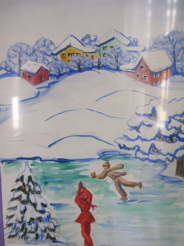 Мои зимние каникулы 2 класс